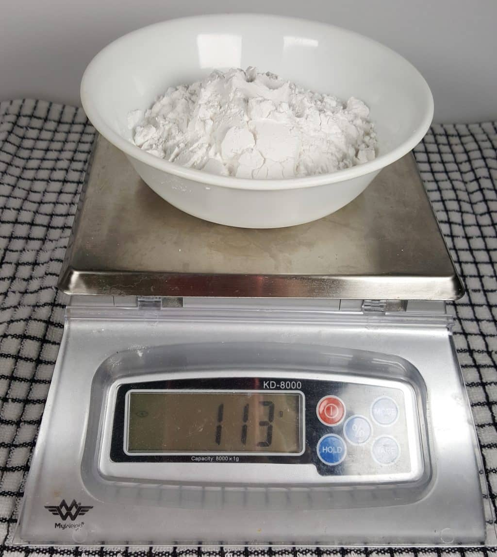 Properly Measure the Tapioca Starch