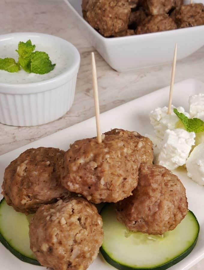 Instant Pot / Pressure Cooker Greek Meatballs