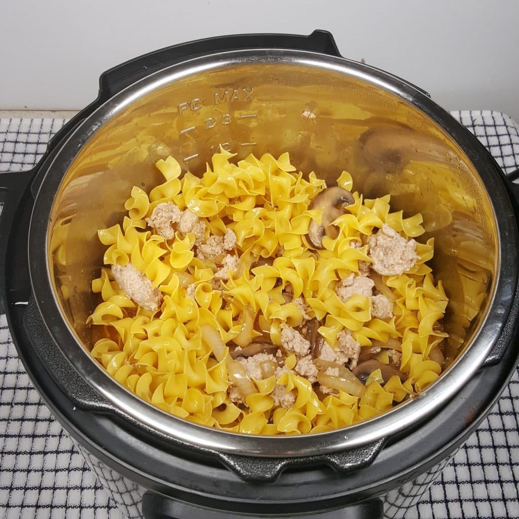 Wide Egg Noodles Cook Fast
