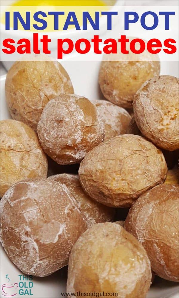 Pressure Cooker Syracuse New York Salt Potatoes