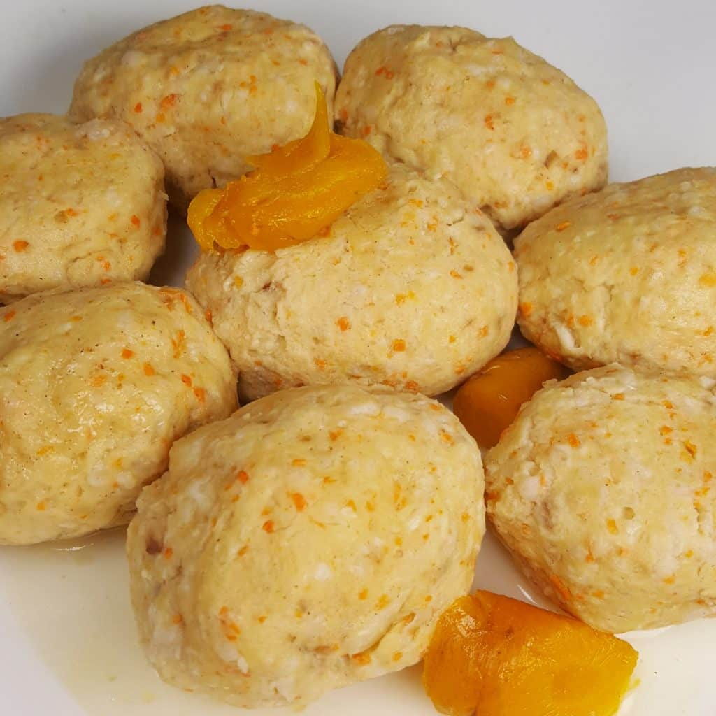 Pressure Cooker Gefilte Fish with Carrots