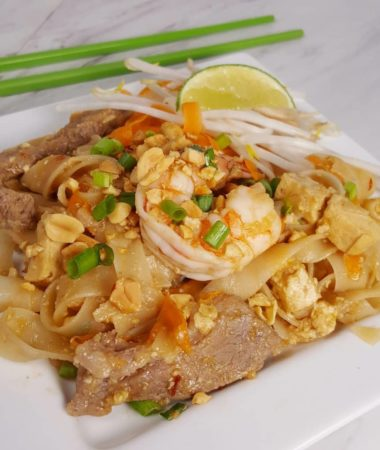 Instant Pot Pressure Cooker Pad Thai