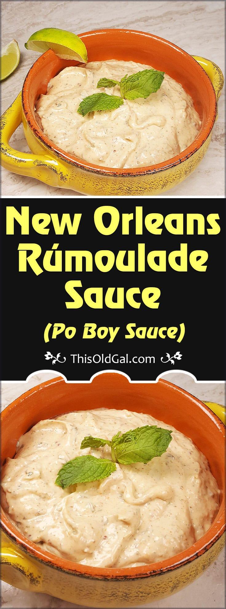 New Orleans Rémoulade Sauce {Po Boy Sauce}