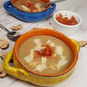 Instant Pot Cooker Chicken Marsala Mushroom Soup