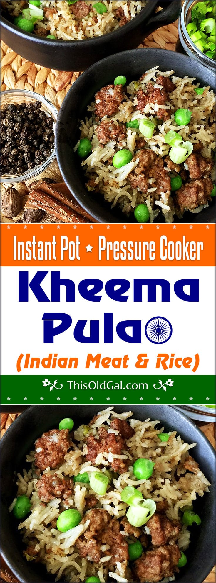 Pressure Cooker Kheema Pulao Indian Meat Amp Rice This Old Gal