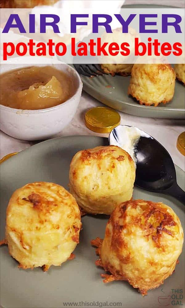 Air Fryer Potato Latke Bites