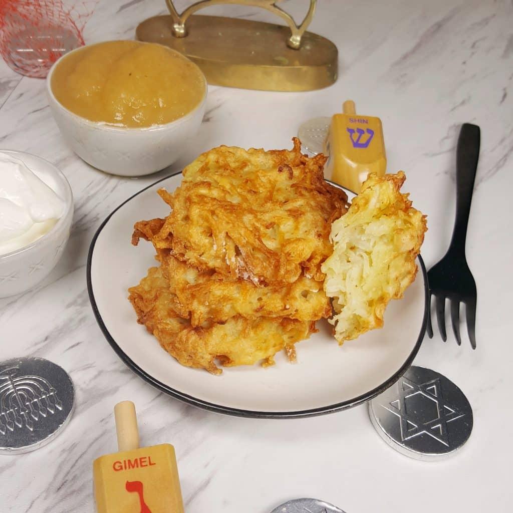 Air Fryer Chanukkah Potato Latkes
