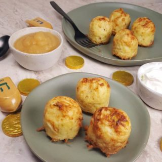 Air Fryer Potato Latkes Bites