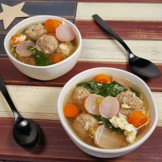 Pressure Cooker Americana Wedding Soup