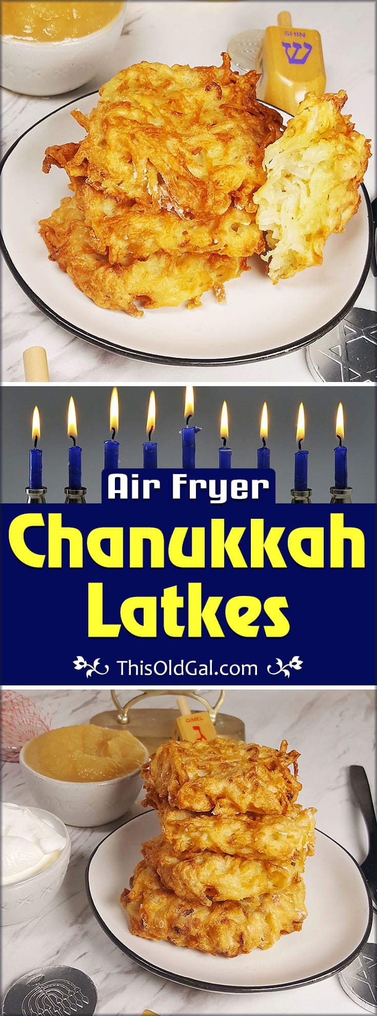 Air Fryer Traditional Air Fryer Chanukkah Latkes