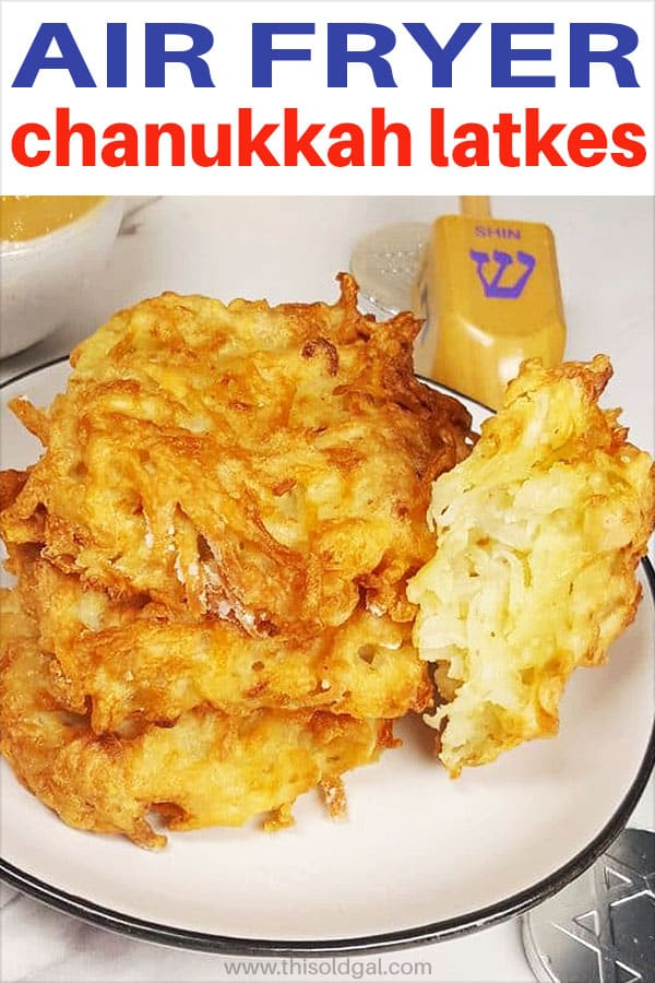 Air Fryer Traditional Chanukkah Latkes