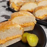 Pasta de Bocaditos {Cuban Ham Sandwiches}