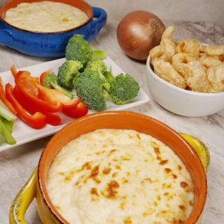 Low Carb Keto Pressure Cooker Hot Onion Dip