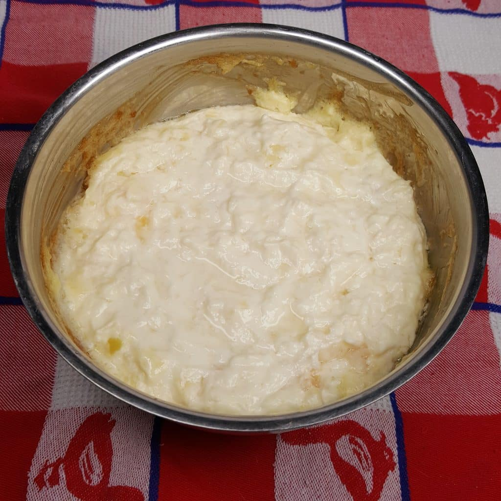 Remove the Hot Onion Dip from Pressure Cooker