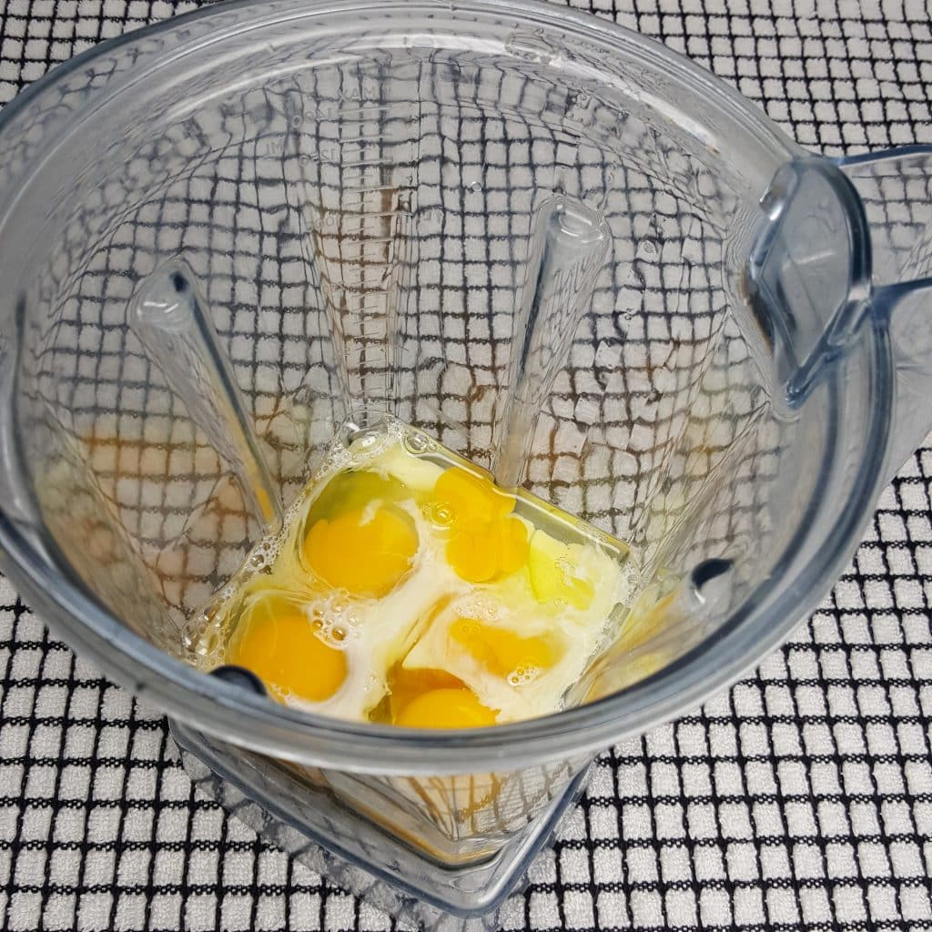 Mix up the Eggs, Cream and Salt