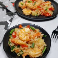 Instant Pot Sweet and Spicy Pineapple Shrimp