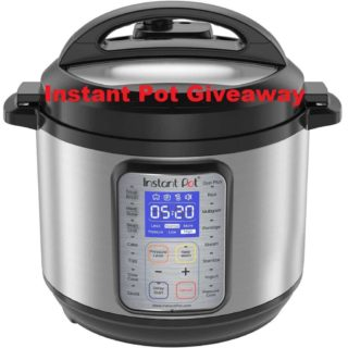 [CLOSED] Instant Pot DUO Plus 6 Quart 9 in 1 Giveaway