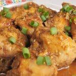 Pressure Cooker Balsamic Ginger Chicken