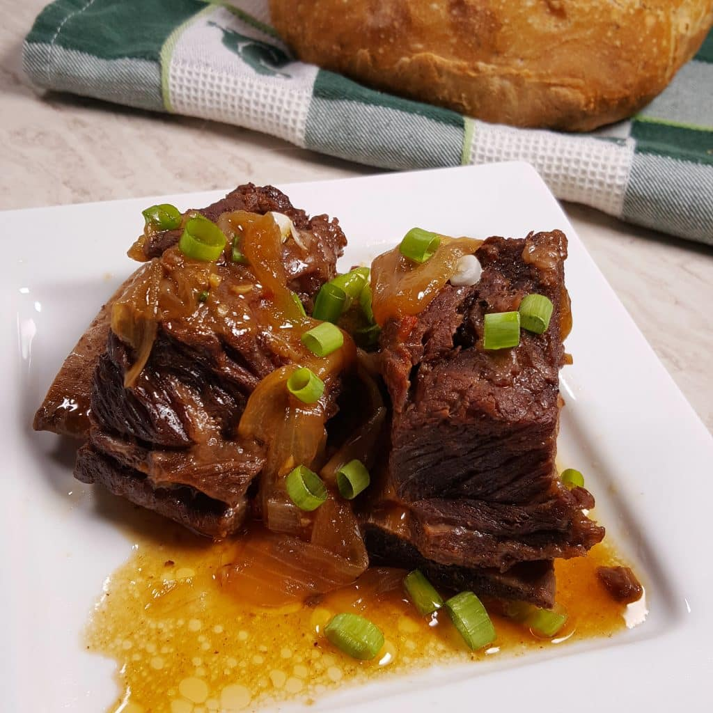 Pressure Cooker Korean Short Ribs