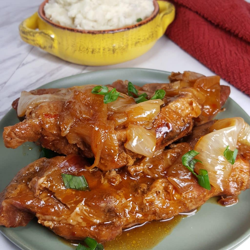 Instant Pot Korean Style Barbecue Country Pork Ribs