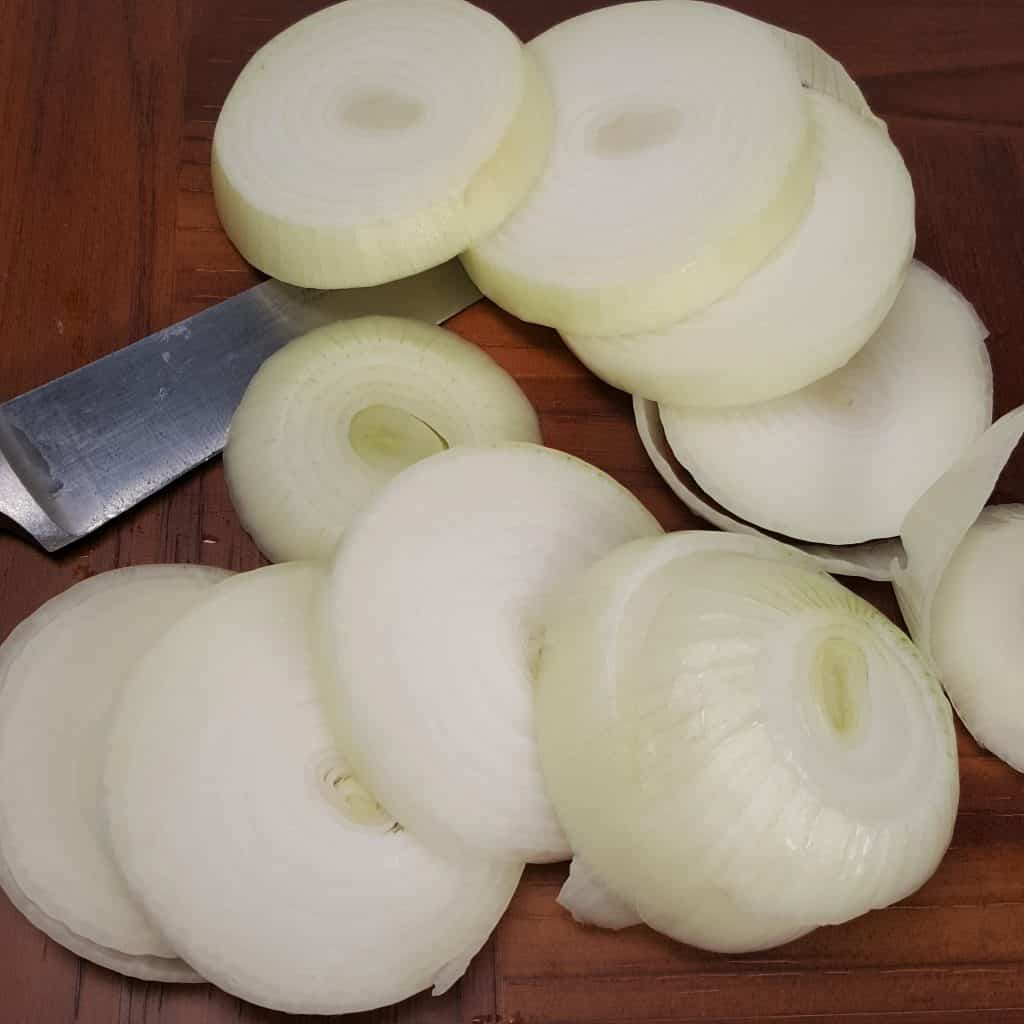 Thick Sliced Onions