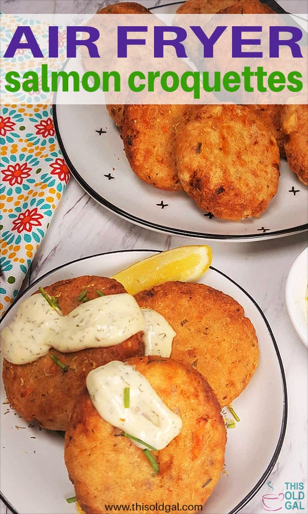 """Jewish Style"" Air Fryer Salmon Croquettes"