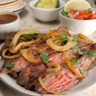 Air Fryer Carne Asada Recipe {Grilled Meat Tacos}