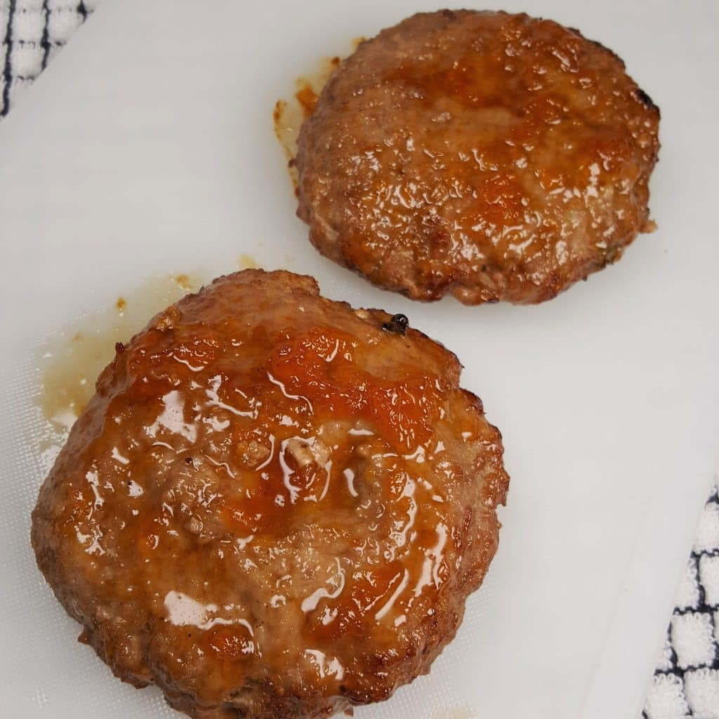Beautifully Glazed Burgers