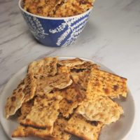 Air Fryer Passover Matzo Tortilla Chips