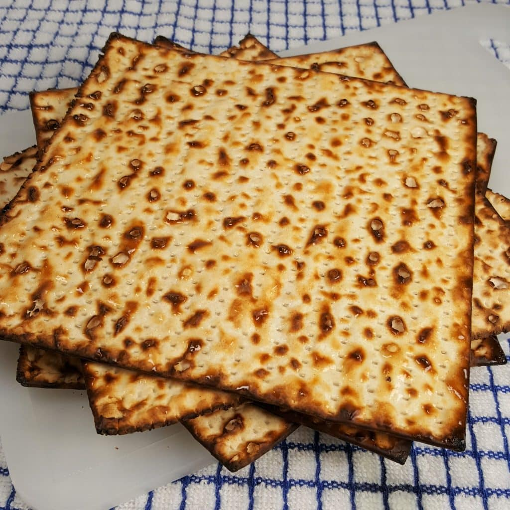 Half a Box of Oiled Matzo