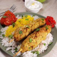 Air Fryer Persian Kabab Koobideh