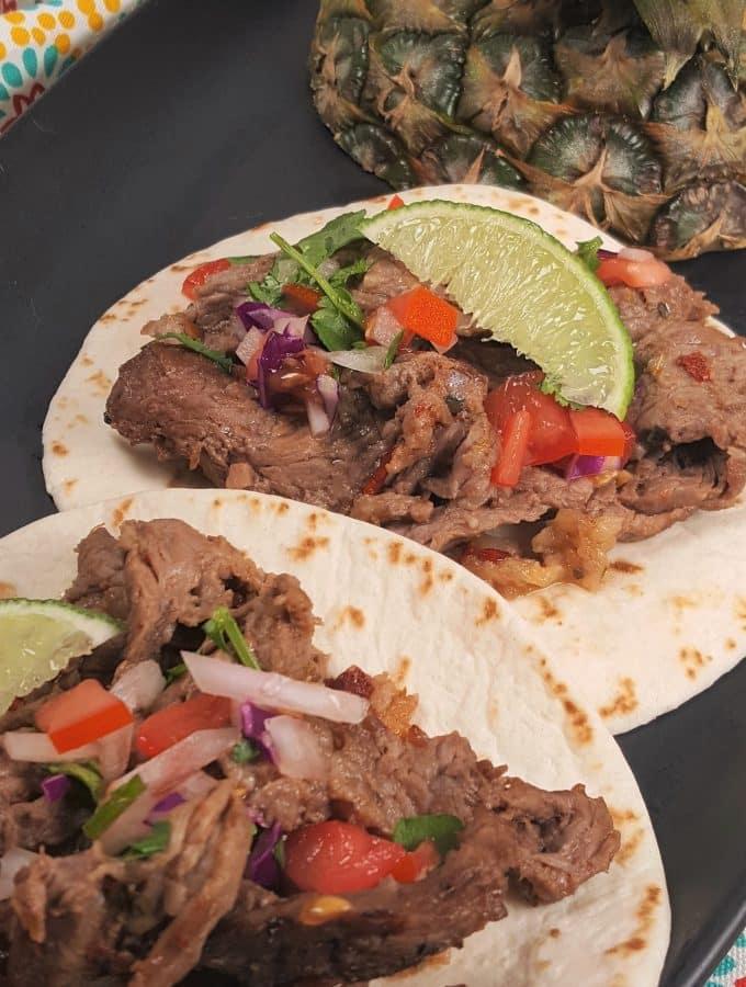 Air Fryer Mexican Street Tacos