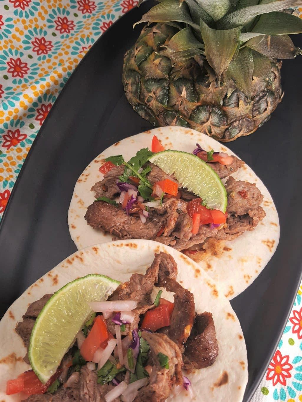 Air Fryer Tijuana Street Tacos