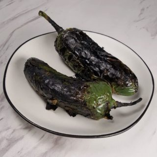 How To Roast Peppers {Charred Chili, Poblano, Jalapeńo, Bell}