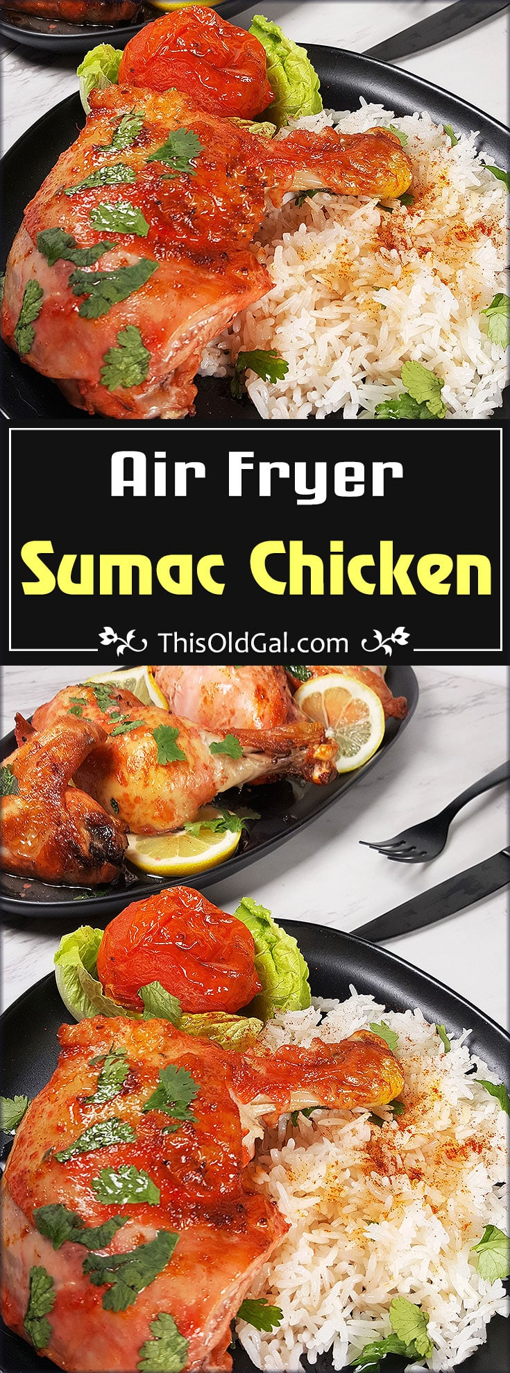 Air Fryer Middle Eastern Crispy Sumac Chicken