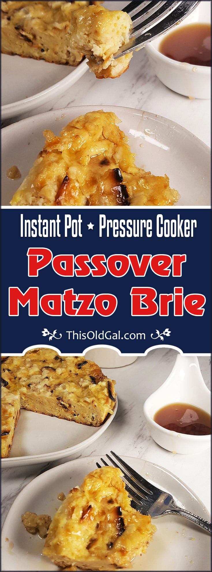 Instant Pot Passover Matzo Brie {Jewish French Toast}