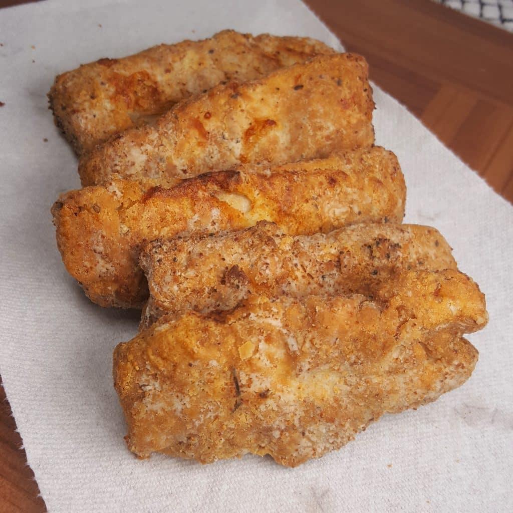 Puffed up Fried Fish!