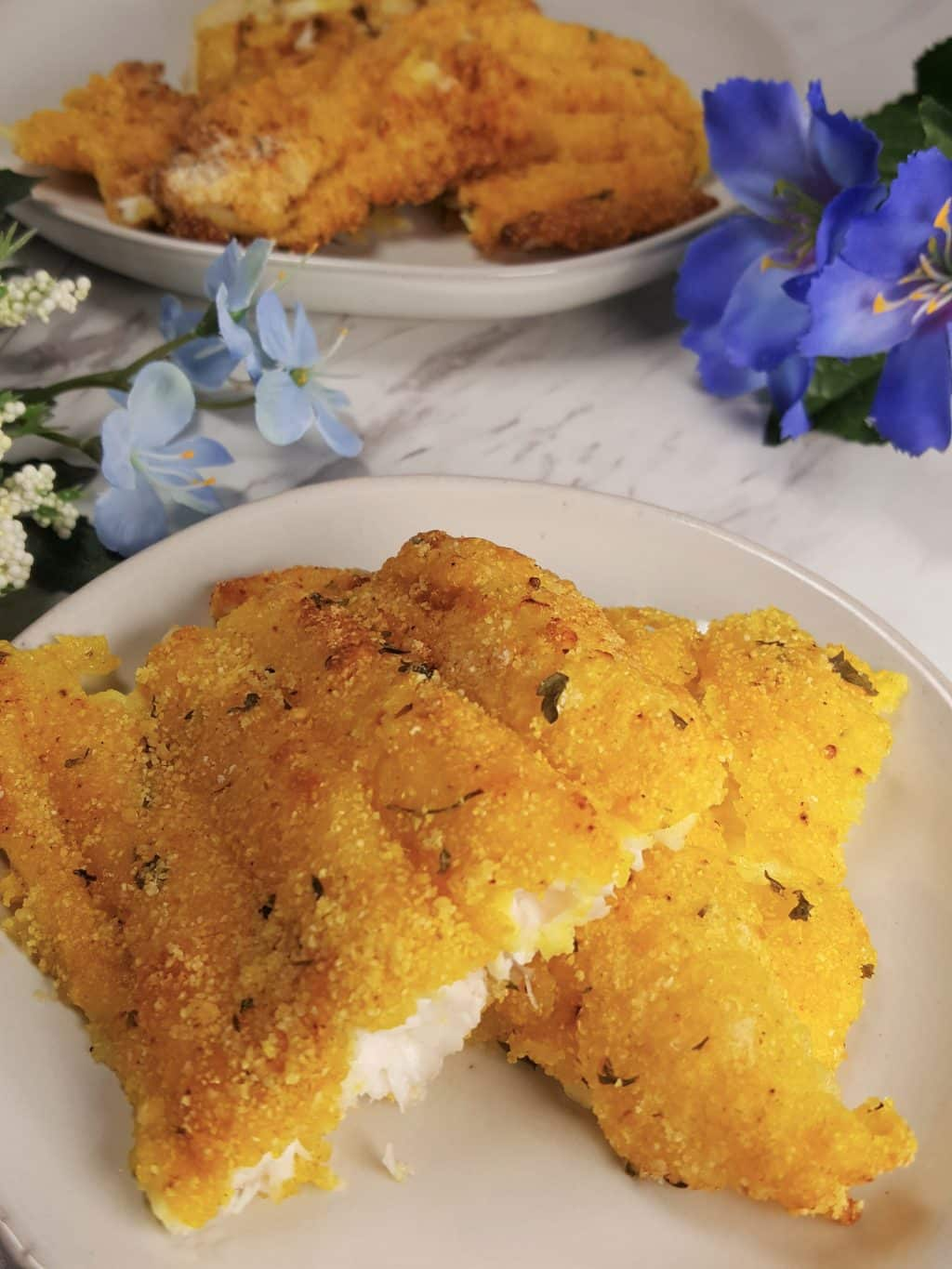 Air Fryer Southern Fried Catfish Louisiana Cajun Style This