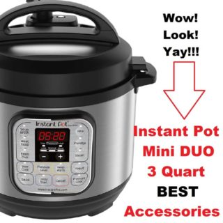 Best Instant Pot Duo Mini 3 Quart Accessories