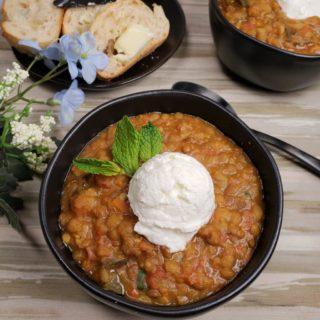 Instant Pot Armenian Lentil Soup
