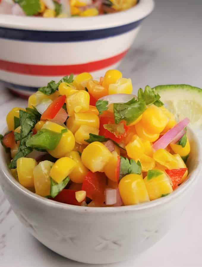 Fresh and Simple Corn Salsa Recipe