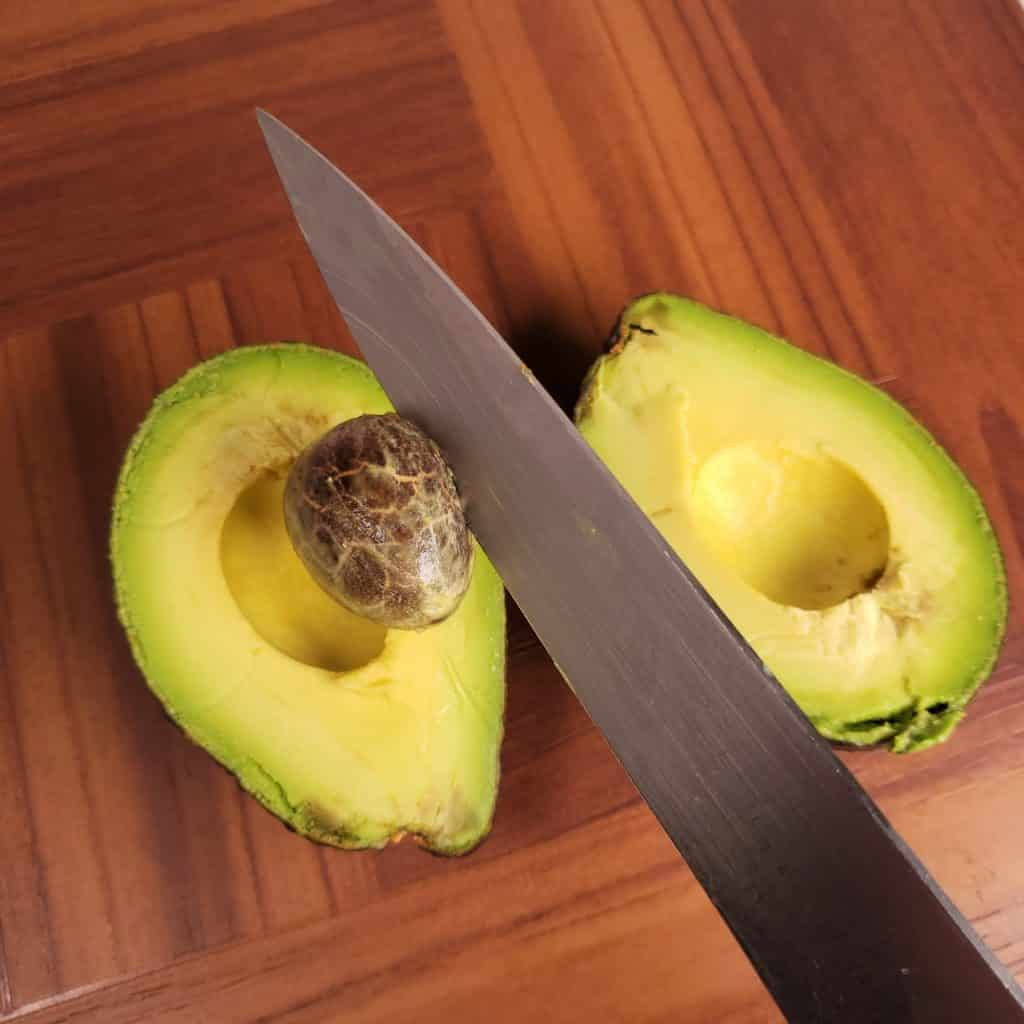 Slice Avocado in Half