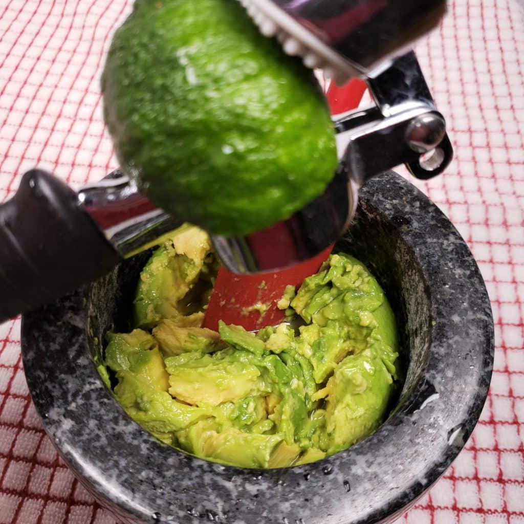 Squeeze Fresh Limes over Avocados