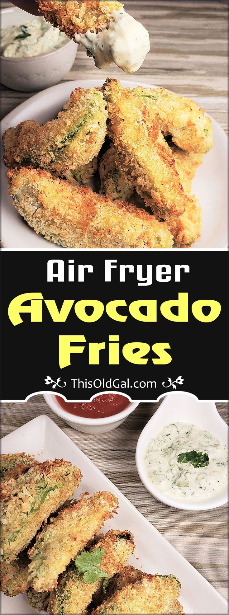 Creamy & Crispy Air Fryer Avocado Fries