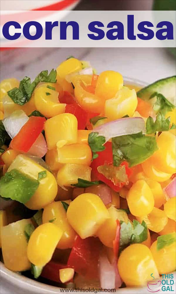 Fresh and Simple Corn Salsa