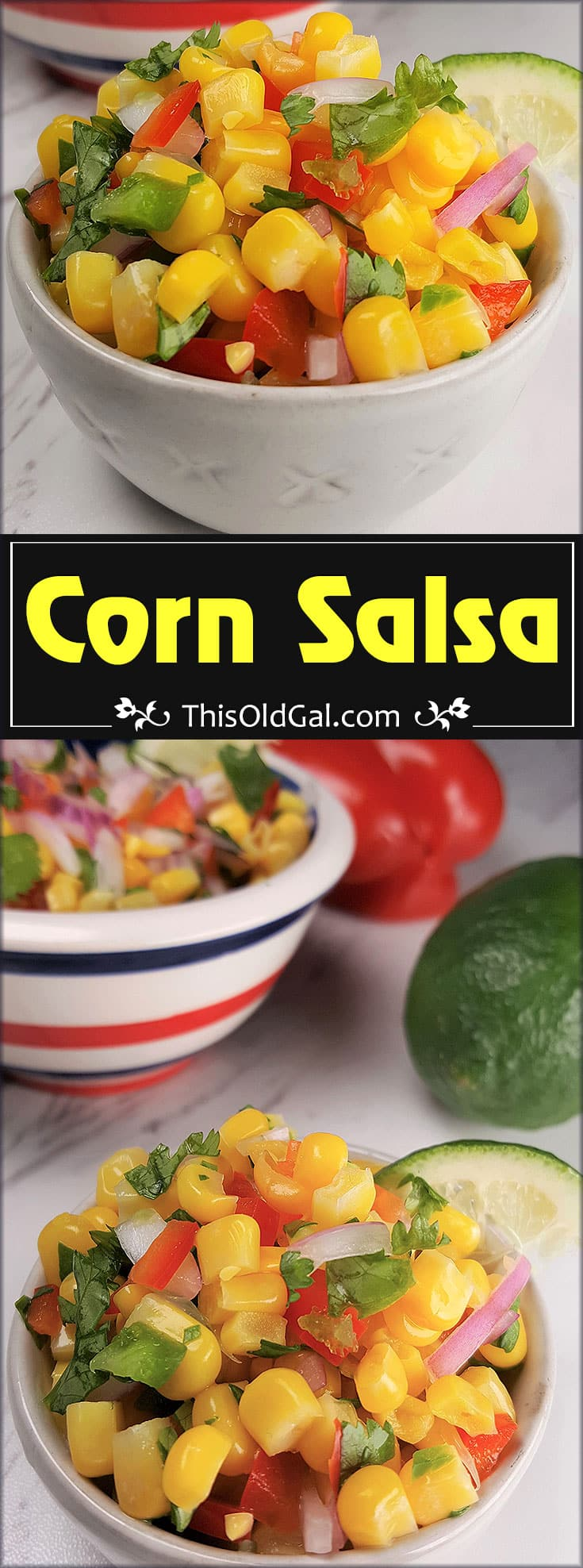 Simple and Easy Corn Salsa