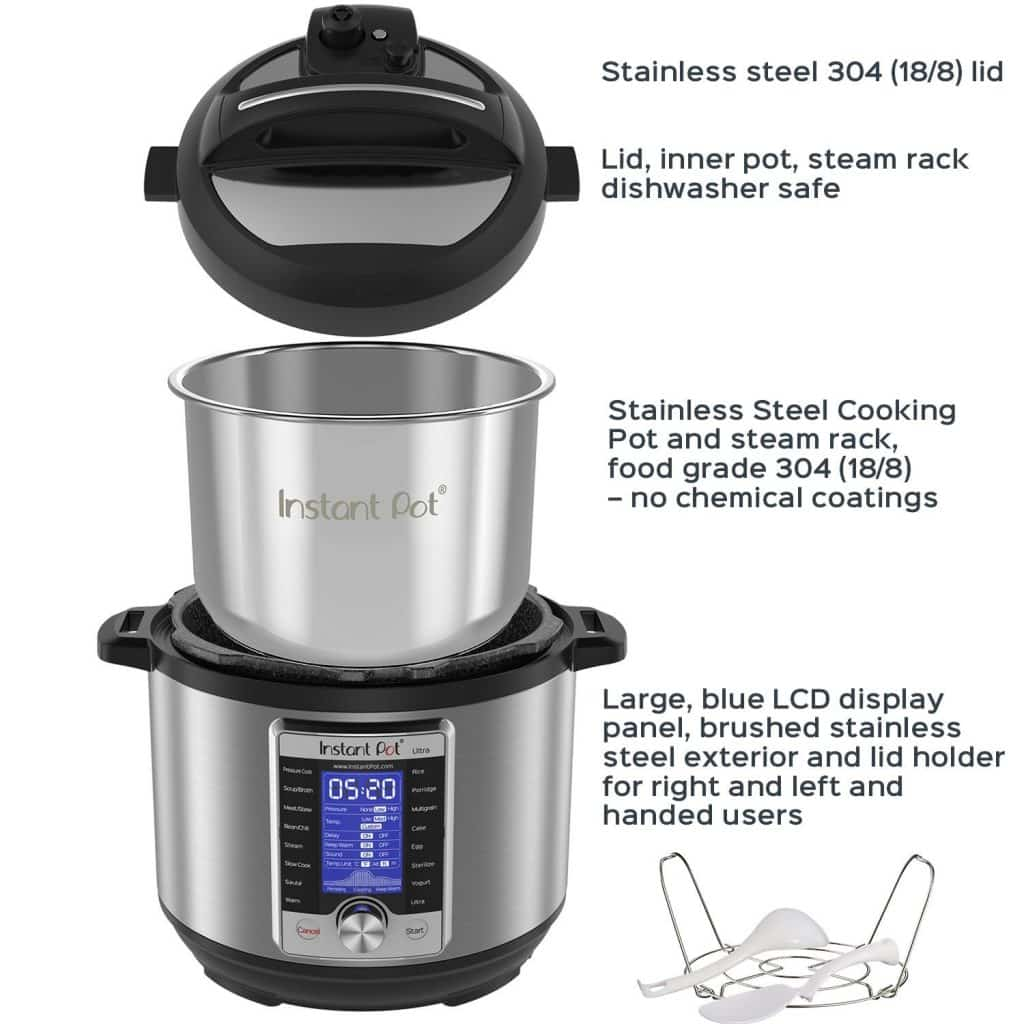 Mother S Day Sale Instant Pot Ultra 6 Quart Pressure