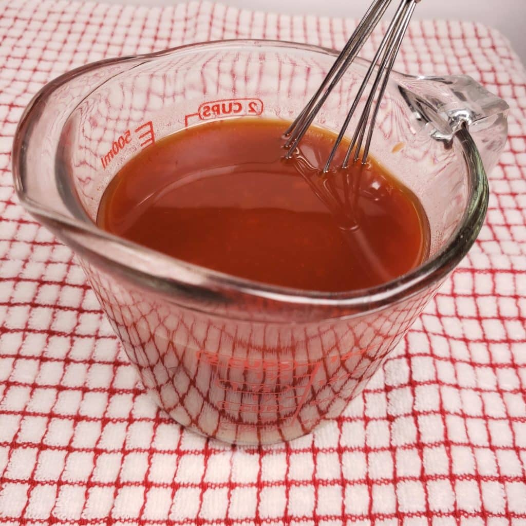 Mix up the Sweet and Sour Sauce