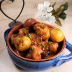 Instant Pot Braised Chicken & Creamy Potatoes