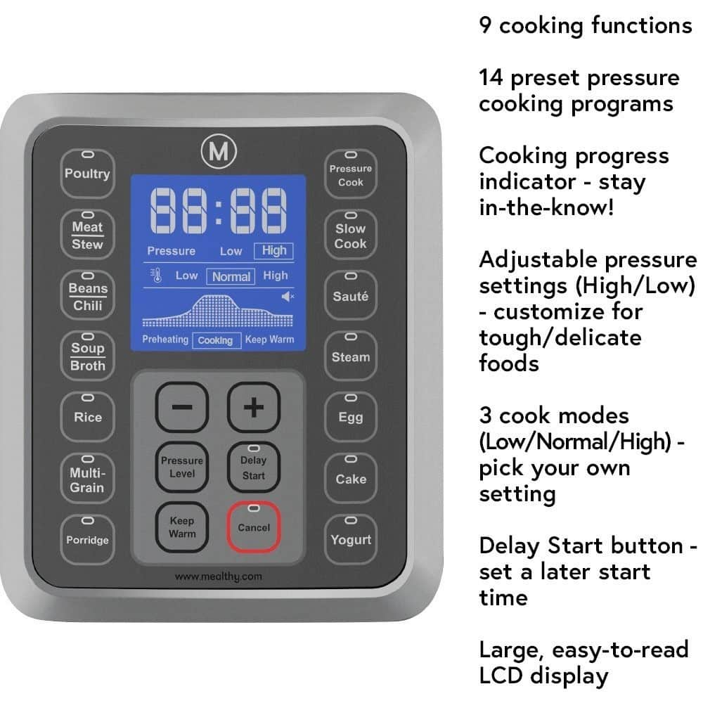 Mealthy MultiPot Interface